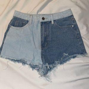 Jean Shorts from Shein